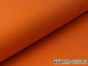 Baumwolljersey 437 burnt orange