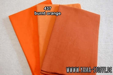Bündchen fein 437 burnt orange