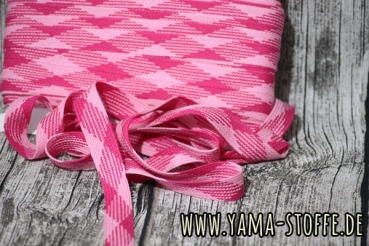 Hoodieband 20mm pink/rosa