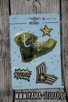 Patches Schuh Camouflage